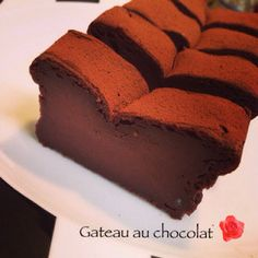 バター不使用!極上濃厚豆腐ガトーショコラ Healthy Sweets, Healthy Recipes, Japanese Cake, Chocolate Cake, Cake Recipes, Food And Drink, Tasty, Treats, Snacks