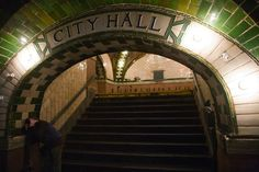 The Abandoned City Hall Subway Stop (Photo by John-Paul Palescandolo and Eric Kazmire