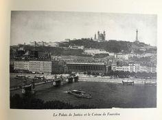 Le Palais de Justice et le Coteau de Fourvière