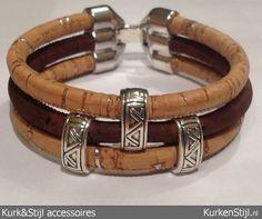 Armband van kurk