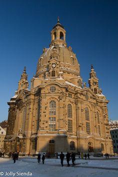 Dresdens Frauenkirche (Church). Photo credit Jolly Sienda Photography.