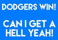 Win or lose! Dodgers Party, Dodgers Win, Dodgers Baseball, Baseball Mom, Baseball Stuff, Winning Meme, Winning Quotes, Dodger Game, Dodger Stadium