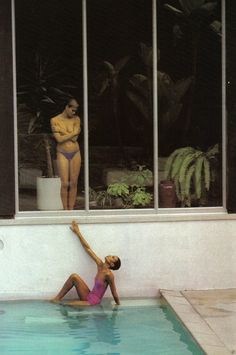 Vogue Paris April 1977 by Helmut Newton http://www.nomad-chic.com