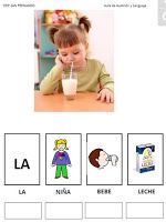Siembra Estrellas: VOCABULARIO ALIMENTOS: trabajamos varios aspectos Speech Language Therapy, Speech And Language, Speech Therapy, Cognitive Activities, Infant Activities, Spanish Immersion, Second Language, Spanish Lessons, Kids Education