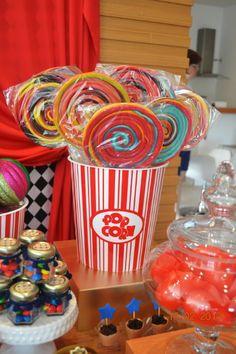guloseimas festa infantil tema circo