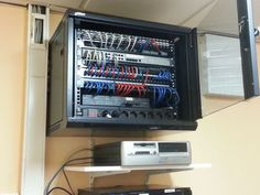 Electronics Mini Projects, Server Room, Home Network, Nsx, Cable Management, Smart Home, Home Office, Workshop, Iphone