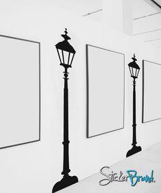 Vinyl Wall Decal Sticker Street Lamp item OSES103