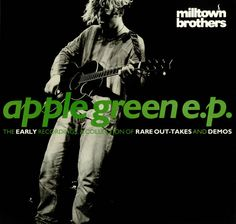 "For Sale - Milltown Brothers Apple Green EP UK  12"" vinyl single (12 inch record / Maxi-single) - See this and 250,000 other rare & vintage vinyl records, singles, LPs & CDs at http://eil.com"