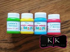 Bubble Favors by KayJaysKreation on Etsy