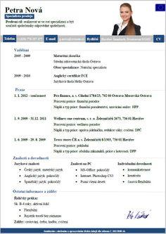 Pro-CV 11. vzor žena. Více informací na http://www.pro-cv.cz/produkt/pro-cv-11-vzor-zena/