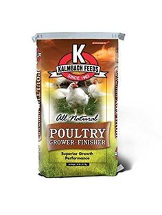 Kalmbach Feeds All Natural Flock Grower Crumble, 50 lb - http://pets.goshoppins.com/backyard-poultry-supplies/kalmbach-feeds-all-natural-flock-grower-crumble-50-lb/