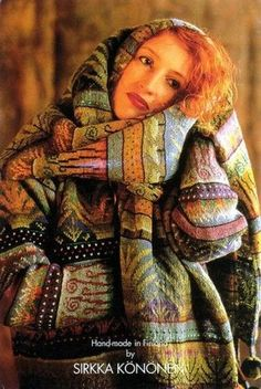 sirkka könönen inspiring knitting, I'm not finding a pattern yet Fair Isle Knitting, Hand Knitting, Knitting Patterns, Crochet Patterns, Textiles, Punto Fair Isle, Fair Isles, Art Textile, Pulls