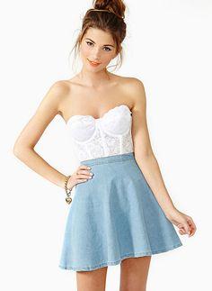 Girls' Clothing (newborn-5t) Conscientious Hello Kitty Blue Denim Toddler Girl Skirt For Size 4 Cheap Sales