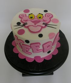 pink panther cake - Google Search