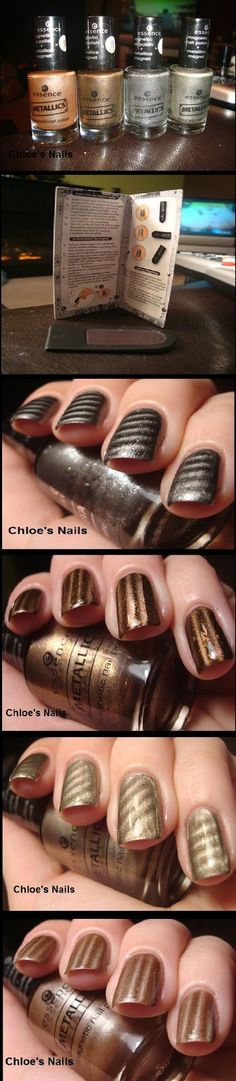 Essence Magnetic Metallics Polish Swatches!!!!   Beauty Tutorials