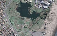 Imagen satelital de la Reserva Natural Puerto Mar del Plata, Buenos Aires. Foto: Googleearth Reserva Natural, City Photo, Mar Del Plata, Buenos Aires, Photos