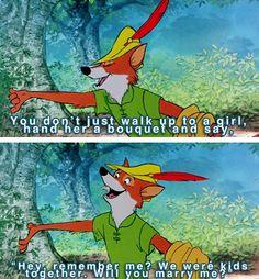Robin Hood's got it down.