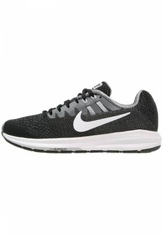 9186a50b89c3 Nike Performance. AIR ZOOM STRUCTURE 20 - Laufschuh Stabilität -  black white cool