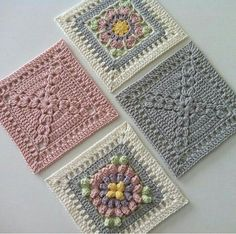 Transcendent Crochet a Solid Granny Square Ideas. Inconceivable Crochet a Solid Granny Square Ideas. Crochet Quilt, Crochet Blocks, Crochet Home, Crochet Motif, Crochet Crafts, Crochet Stitches, Crochet Baby, Crochet Projects, Knit Crochet