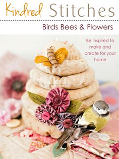 Kindred Stitches Special issue Birds Bees & Flowers Australian craft sewing magazine app