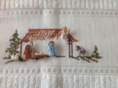 Pesebrito Christmas Jesus, Christmas Time, Holiday, Christmas Projects, Embroidery Patterns, Nativity, Diy And Crafts, Projects To Try, Cross Stitch