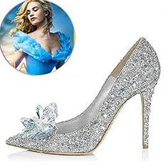 Cinderella Movie 2015 The Glass Slipper Princess Crystal Shoes Adult Size Naly http://www.amazon.com/dp/B00Y2BBAYI/ref=cm_sw_r_pi_dp_OywVvb1H8TH2V