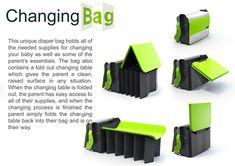 Dad's Changing Bag by Evan Gant of Altitude Inc... omg!!!