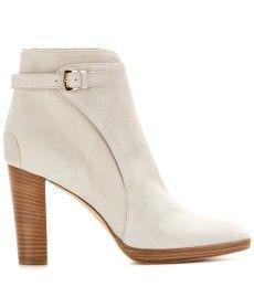 Loro Piana - Wallis suede ankle boots  - mytheresa.com