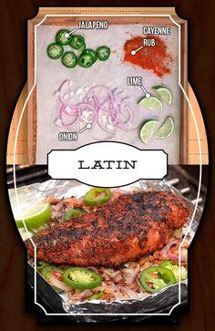 Spiced Chicken - Latin