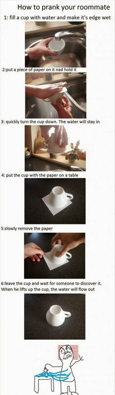 iLaugh : How to prank your roommate