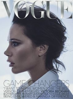Superfemme Victoria Beckham fronts 'The New Girl Power', styled by Tony Irvine in sexy menswear looks. Photographer Boo George captures Victoria for Vogue Australia November Hair by Esther Langham; makeup by Romy Soleimani Vogue Magazine Covers, Fashion Magazine Cover, Fashion Cover, Vogue Covers, Victoria Beckham Vogue, Victoria Beckham Style, Victoria Style, Queen Victoria, Spice Girls