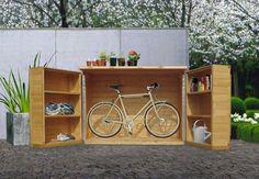 Bike in a box storage More