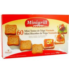 Mini Tostas de Trigo Normales Minigrill (Mercadona) - 5 unidades 1 punto.