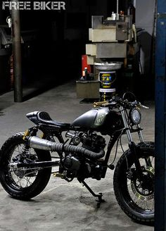 This street tracker is sick as hell.