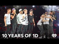 Celebrate 10 YEARS of ONE DIRECTION with UNSEEN MOMENTS from Their Tours Over the Years! - YouTube
