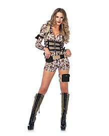 Buy Medium Womens Battlefield Babe Costume, Sexy Military Costume at online store Career Costumes, Girl Costumes, Costumes For Women, Spirit Halloween Costumes, Halloween Outfits, Halloween Clothes, Trendy Halloween, Halloween Kostüm, Military Costumes