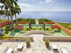 Ca'Ziff, A $19 Million Modern Mediterranean Villa On Brickell Avenue Miami FL