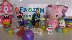 Frozen Fever , #frozenfever #frozen , play doh , frozen fever play doh , frozen surprise egg , frozen play doh
