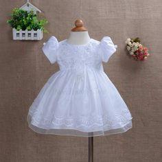 Vestido Bebê Batizado Batismo Dama de Honra Aniversário Luxo