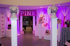 Cool Sweet 16 Party Ideas – Fun and Helpful Sweet Sixteen Party Ideas Birthday Party For Teens, Pink Birthday, Birthday Party Themes, 16th Birthday, Birthday Ideas, Victoria Secret Rooms, Victoria Secret Party, Sweet Sixteen Themes, Sweet Sixteen Parties