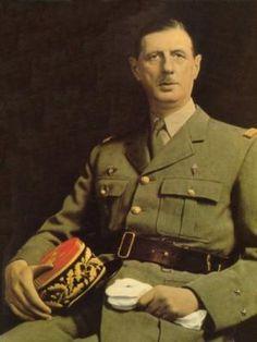 1958: General Charles de Gaulle becomes Prime Minister of France .
