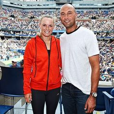 ¿Cuánto mide Caroline Wozniacki? - Real height C7d87538e9ec3db1d15926350a590699--derek-jeter-us-open