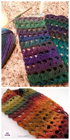 Broomstick Lace Infinity Scarf Free Crochet Pattern - Video Source by DIYDailyMag Crochet Infinity Scarf Pattern, Crochet Lace Scarf, Crochet Scarves, Free Crochet, Infinity Scarf Patterns, Headband Crochet, Crochet Cowls, Crochet Mandala, Broomstick Lace Crochet