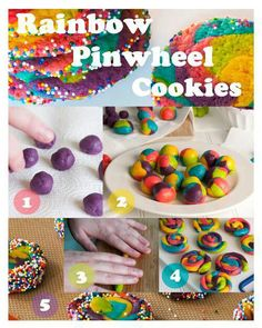 Rainbow biscuit