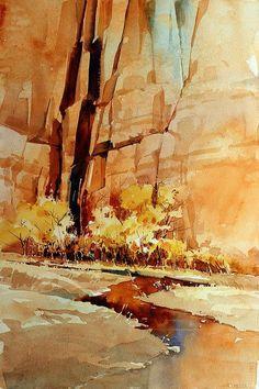 Carl Purcell   WATERCOLOR #watercolorarts