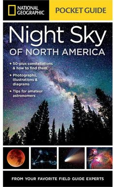 Pocket Guide to the Night Sky of North America Book National Geographic