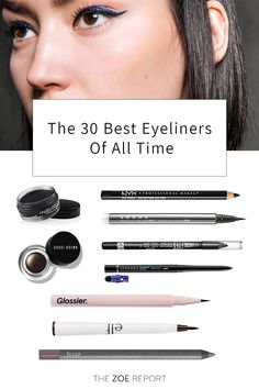 Finding a good eyeliner is like dating: There are plenty of options out there, but not all are cut out for the long run. Some of us are guilty of grabbing the first one to catch our eyes while perusing the aisles of Target, but at some point —… Eyeliner Tattoo, Cat Eyeliner, Pencil Eyeliner, Makeup Kit, Eye Makeup, Makeup Ideas, Beauty Makeup, Long Lasting Eyeliner, Korea Makeup