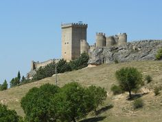 Castillo de Peñaranda de Duero, Burgos, Spain