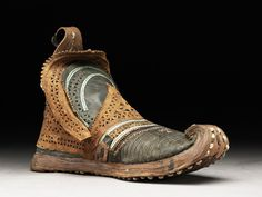 Man's boot Kashgar, 1801 - 1869