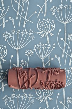 Tussock patterned paint roller by patternedpaintroller on Etsy https://www.etsy.com/uk/listing/160497337/tussock-patterned-paint-roller